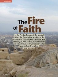 In the Persian Empire of the book of Esther, the Gnostic fire ... - WBM