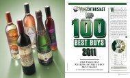 Top 100 Best Buys 2011 - Wine Enthusiast Magazine