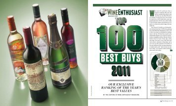 Top 100 Best Buys 2011 - Wine Enthusiast Magazine