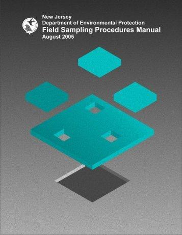 2005 Field Sampling Procedures Manual [single file ... - Hawaiidoh.org