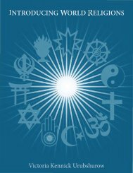 Introducing World Religions - 912 Freedom Library