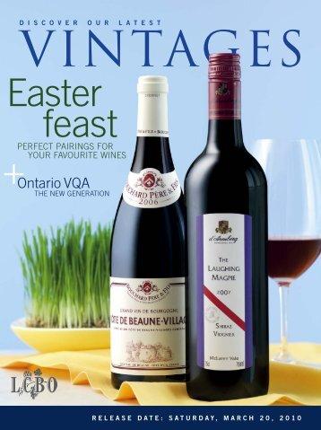 Easter feast - Vintages