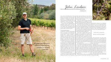 Sneak a preview of the section on John Loubser, Silverthorn Wines