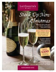 ORDER BY st December for next-day Christmas delivery - Laithwaites