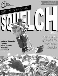 Keeping it real since 1991 - Squelched!