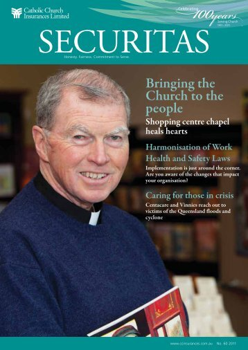Issue 60 - August 2011 - Catholic Church Insurance