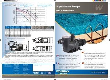 Supastream Pumps