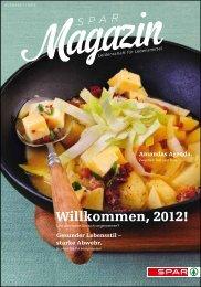 SPAR Schweiz - Magazin 01/12