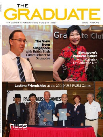 The view from singapore with British High Commissioner to ... - NUSS