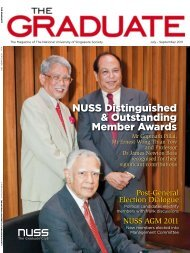 NUss Distinguished & outstanding Member Awards