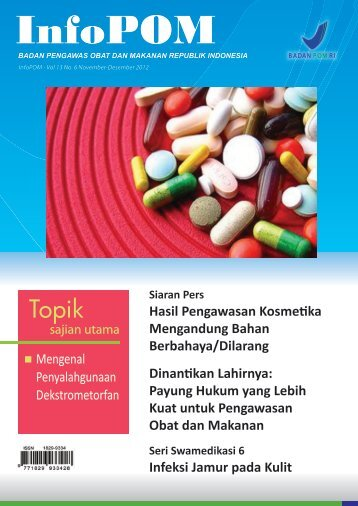 November - Desember 2012. Vol.13 No. 6 - Perpustakaan POM ...