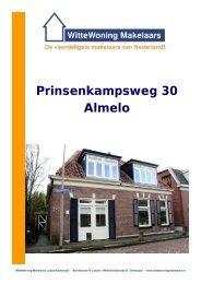 Brochure Prinsenkampsweg 30 Almelo - Witte Woning Makelaars
