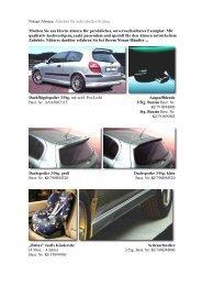 Nissan Almera: Zubehör für individuelles Styling ... - allautoparts.ru