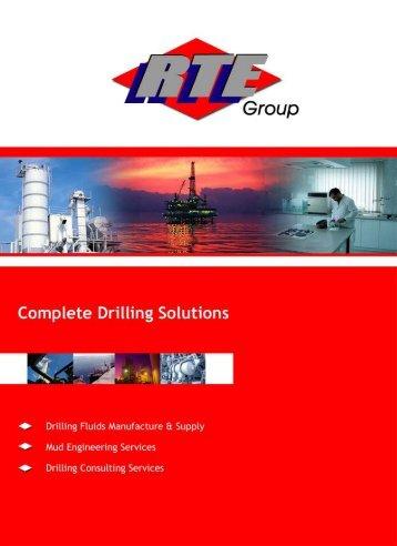 RTE Drilling Fluids Brochure - RTE Group