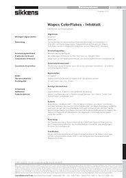 Technisches Merkblatt - AkzoNobel