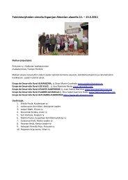 Toimintaryhmien vierailu Espanjan Almerian alueella 11 - Viisaankivi