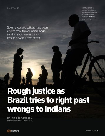 Rough justice as Brazil tries to right past wrongs to Indians
