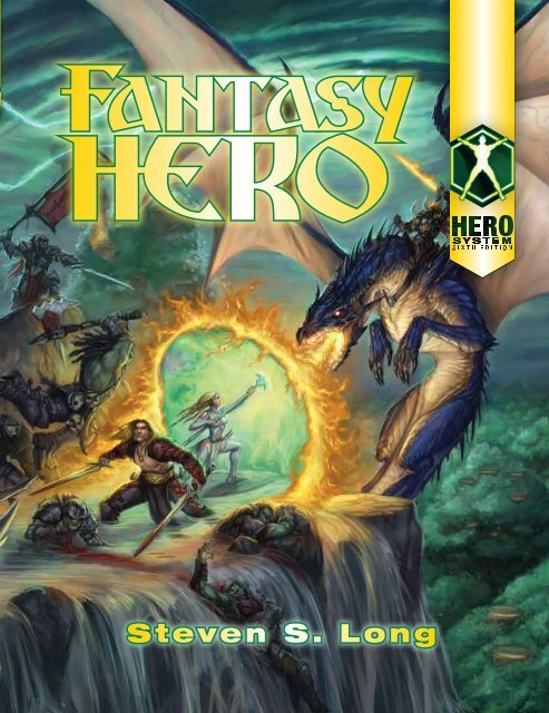 Dojhero 1200 Hero System 6th Fantasy Hero Pdf