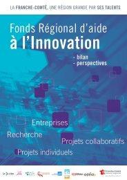 Fonds Régional d'aide à l'Innovation, bilan et perspectives - Conseil ...