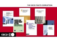 THE OECD FIGHTS CORRUPTION