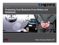 Protecting Your Business From Bribes and Kickbacks - Securitas