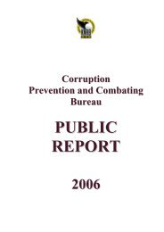 Read more: Public Report 2006 - KNAB
