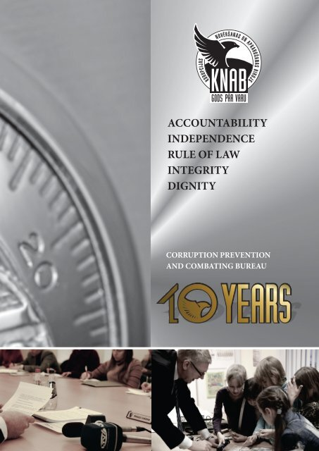 Corruption Prevention and Combating Bureau - 10 years - KNAB