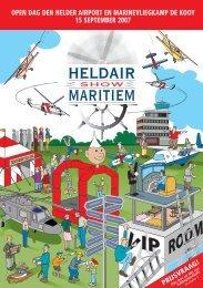 Heldair Show Maritiem - Den Helder Airport
