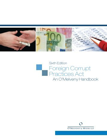 Foreign Corrupt Practices Act - O'Melveny & Myers