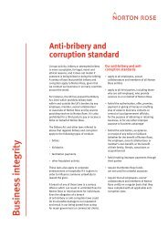 Read more about our anti-bribery and anti-corruption ... - Norton Rose