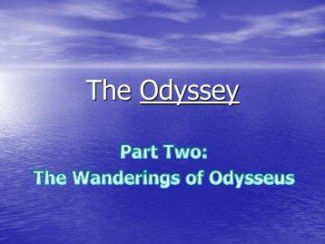 Books 5-8 Odyssey Summaries - TeacherWeb