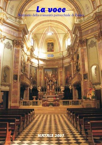 Dicembre 2007.qxp - Parrocchia San Nicolò vescovo - Zanica