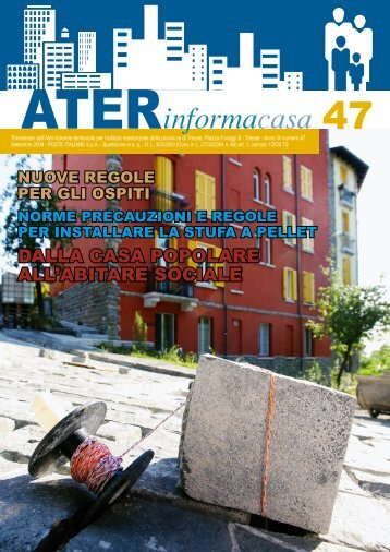 ATERInformacasa Settembre 2009 - Ater Trieste