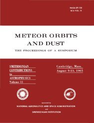 METEOR ORBITS AND DUST - Smithsonian Institution Libraries