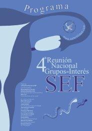 Programa Programa - Sociedad Española de Fertilidad