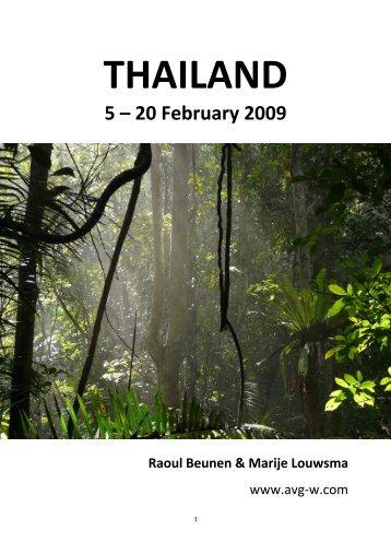 Thailand 2009 - Raoul Beunen