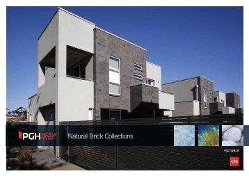 VIC Natural Brick Collections - PGH Bricks + Pavers