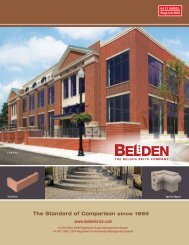 Belden Brick Sweets Catalog