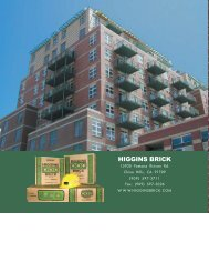 HIGGINS BRICK - Thompson Building Materials