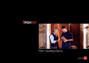Sandstocks Brochure - PGH Bricks + Pavers