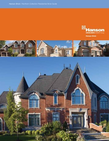 Hanson Brick | Northern Collection Residential Brick Guide
