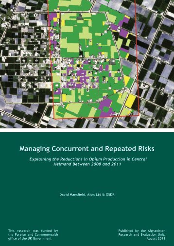 Managing Concurrent and Repeated Risks - the Afghanistan ...