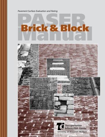 PASER Manual: Brick & Block - Transportation Information Center ...