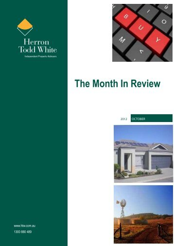 the Month-In-Review-October - Herron Todd White