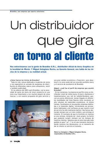Distribuidor Oficial Avery Graphics - Revista Letreros