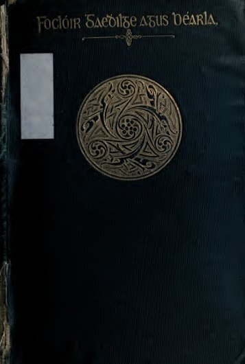 Folclóir Gaedhilge agus Béarla = An Irish-English dictionary, being a ...