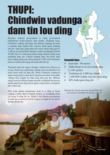 Damming the Chindwin_Kuki.indd - Burma Rivers Network