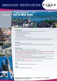 City Break: Rail & Mini Suite - Trend Hotel