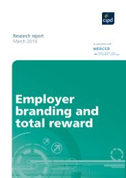 Employer branding and total reward - CIPD