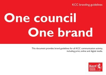 KCC branding guidelines - Kent County Council